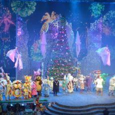 Новогоднее квест-шоу в Крокус-Сити -Холл